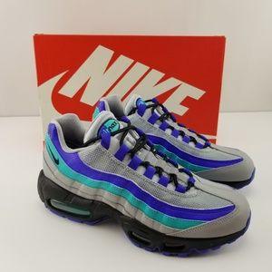 """Nike Air Max 95 OG ,,Aqua"""" Blue Running Shoes"""